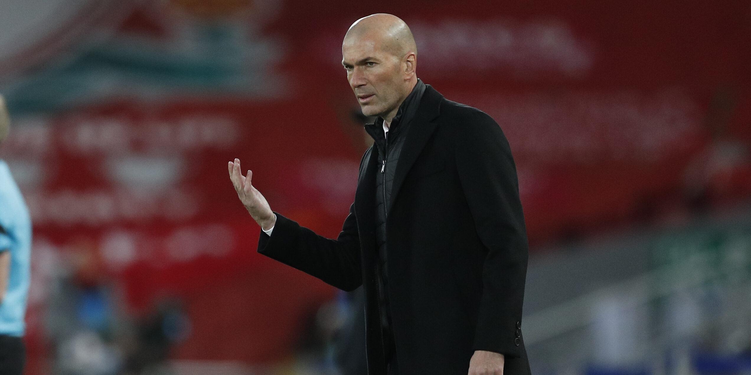 Zidane, a Anfield | Europa Press
