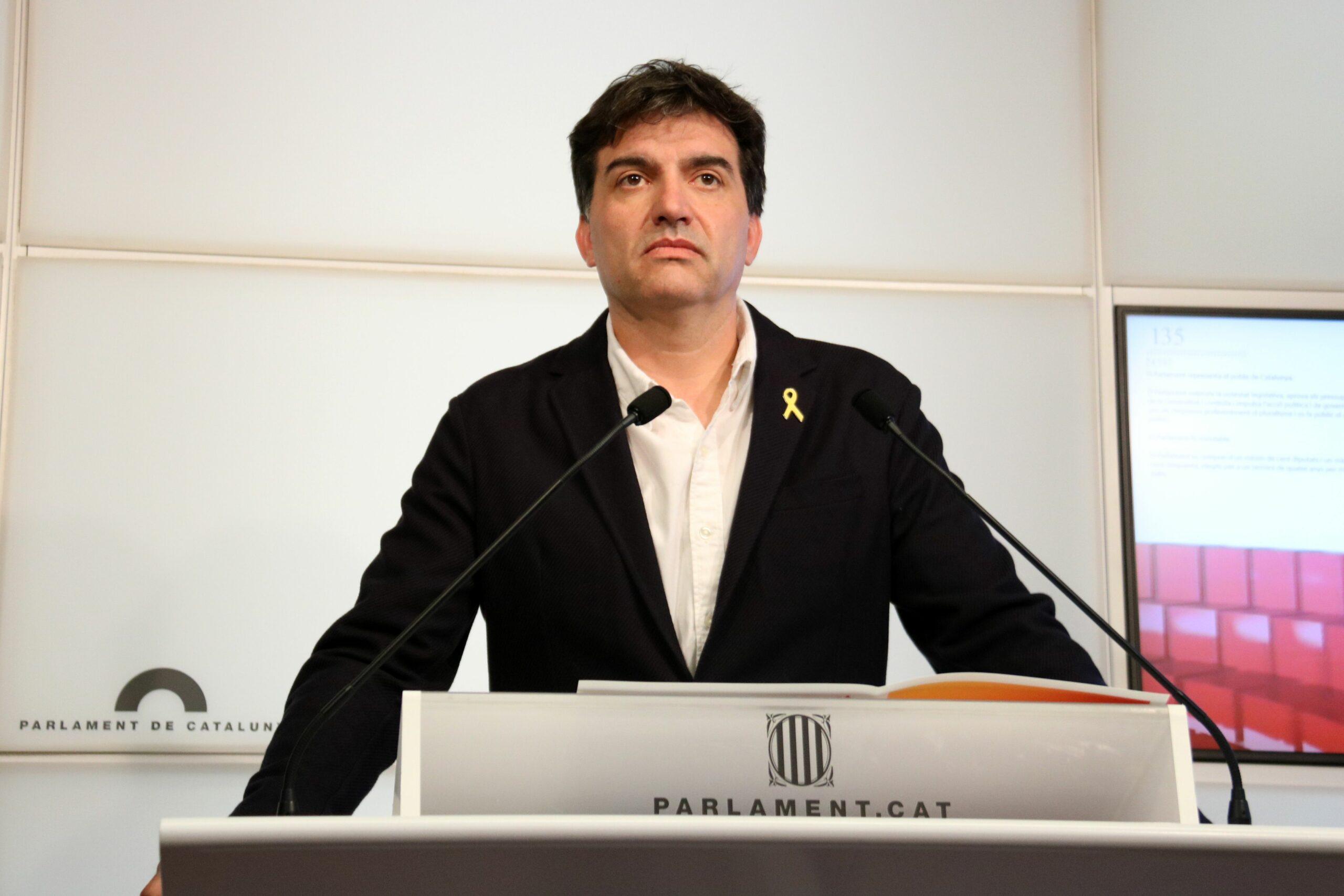 El president d'ERC al Parlament, Sergi Sabrià | ACN
