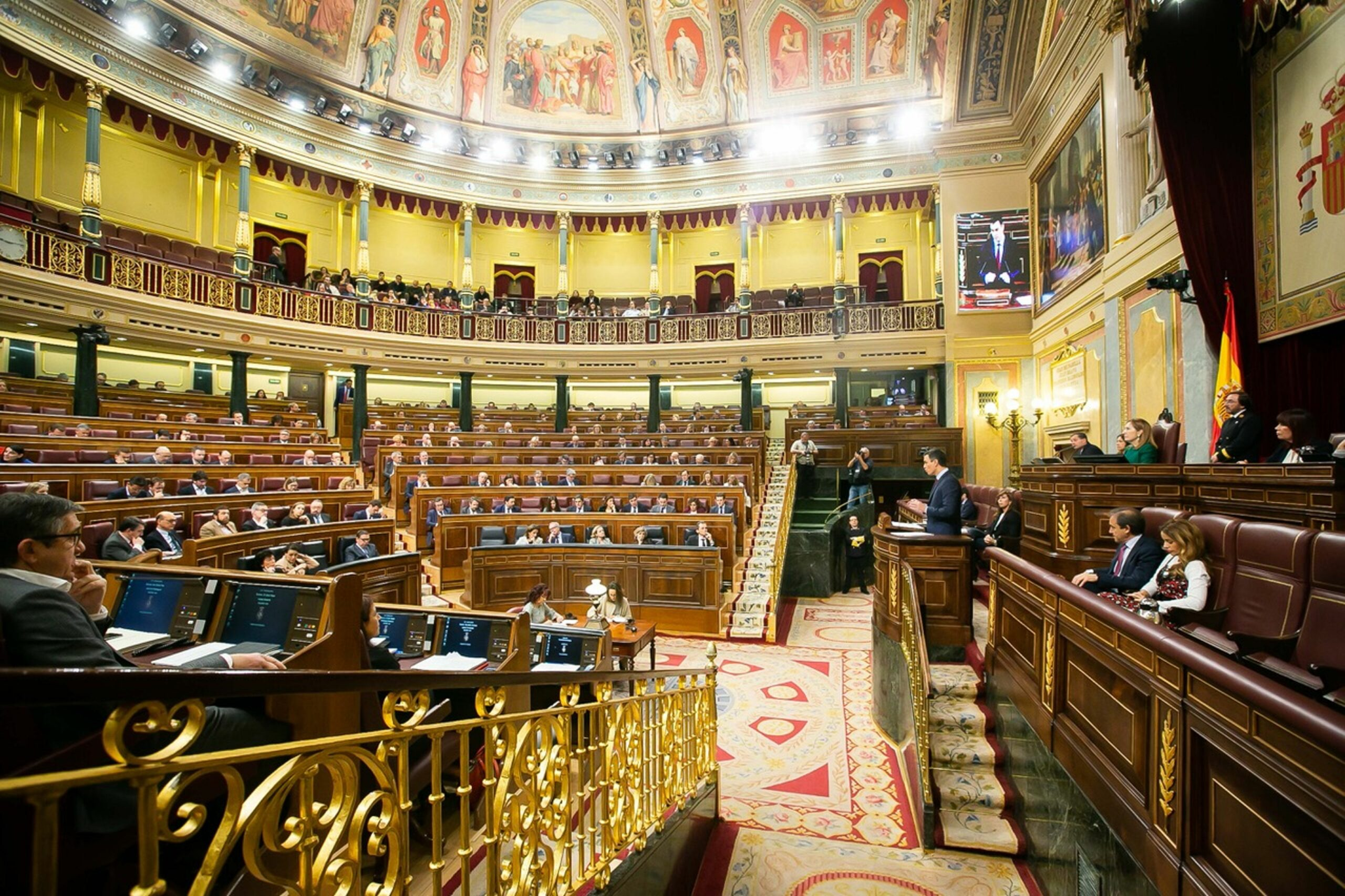 Hemicicle del Congrés dels Diputats