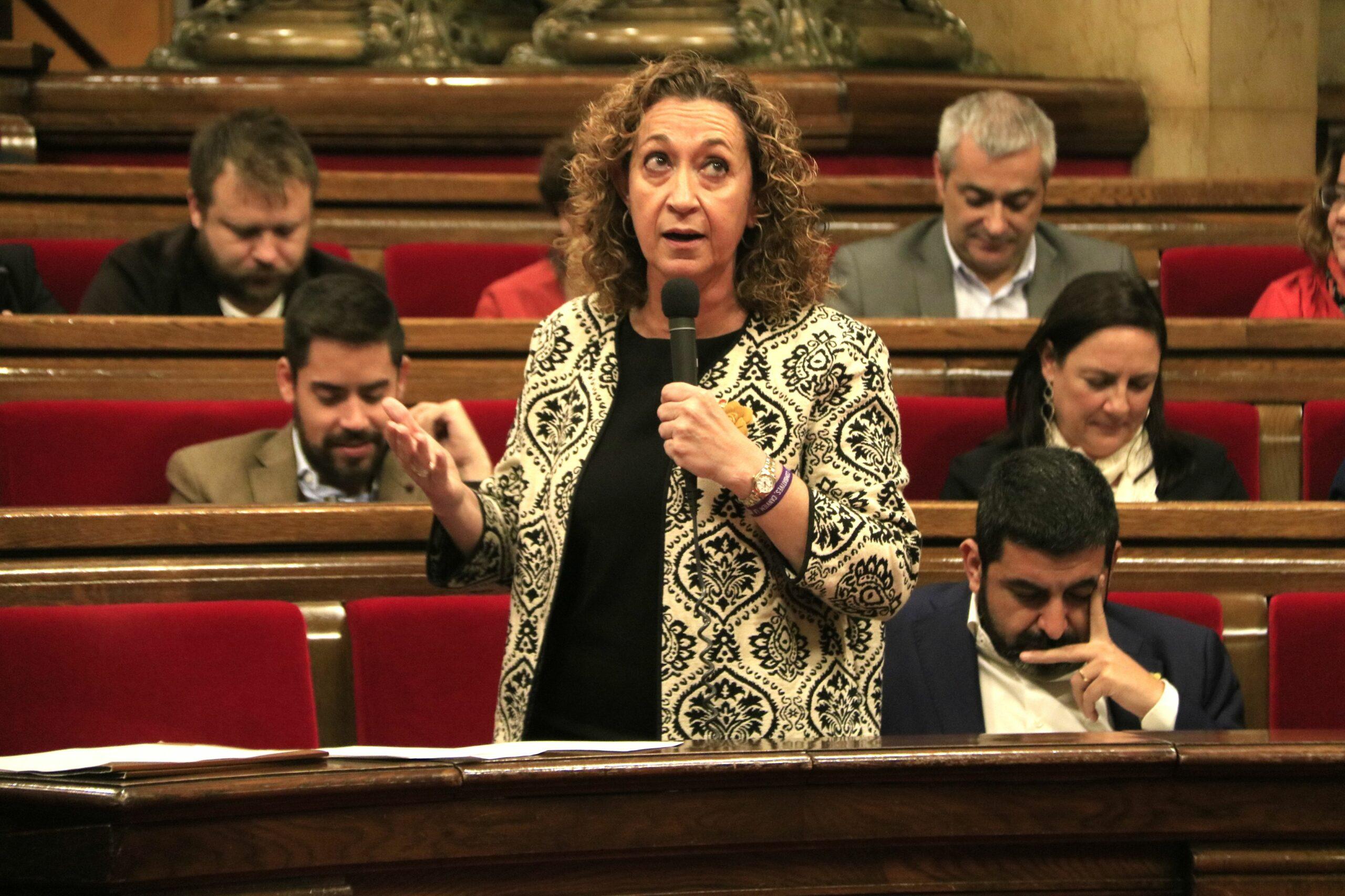 La consellera de Justícia, Ester Capella (ACN)