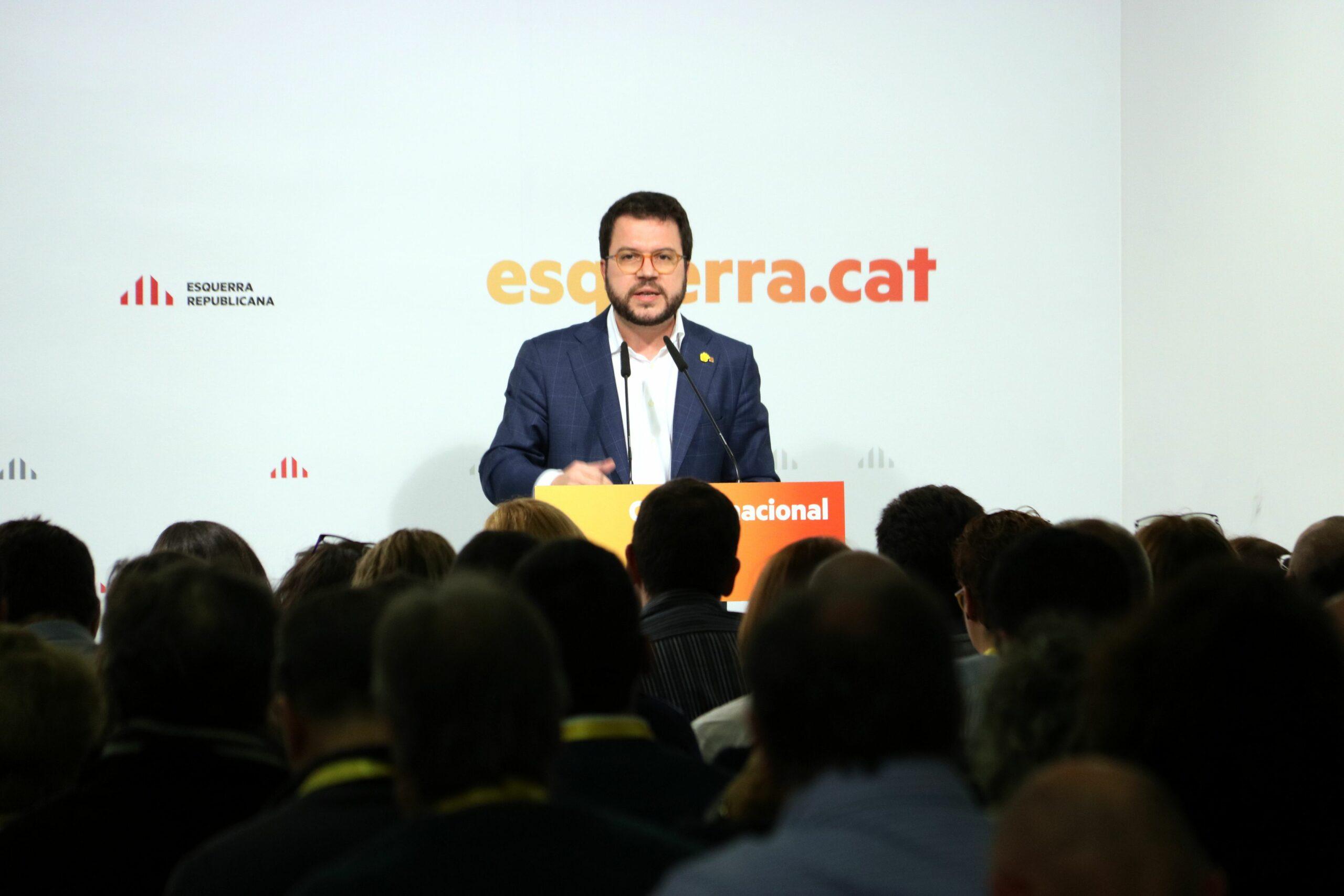 El vicepresident Aragonès