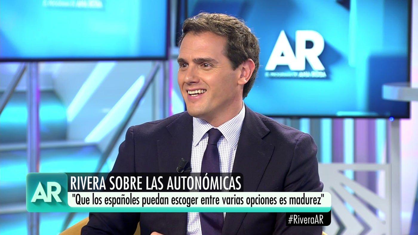 Albert Rivera a 'El Programa de Ana Rosa'   Telecinco