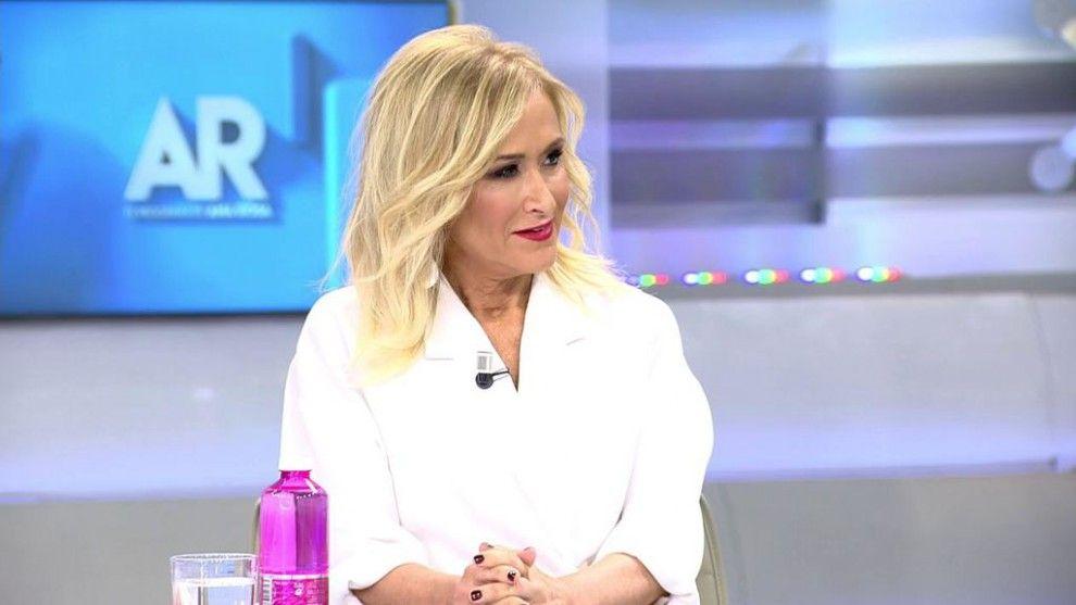 Cristina Cifuentes a 'El Programa de Ana Rosa'   Telecinco