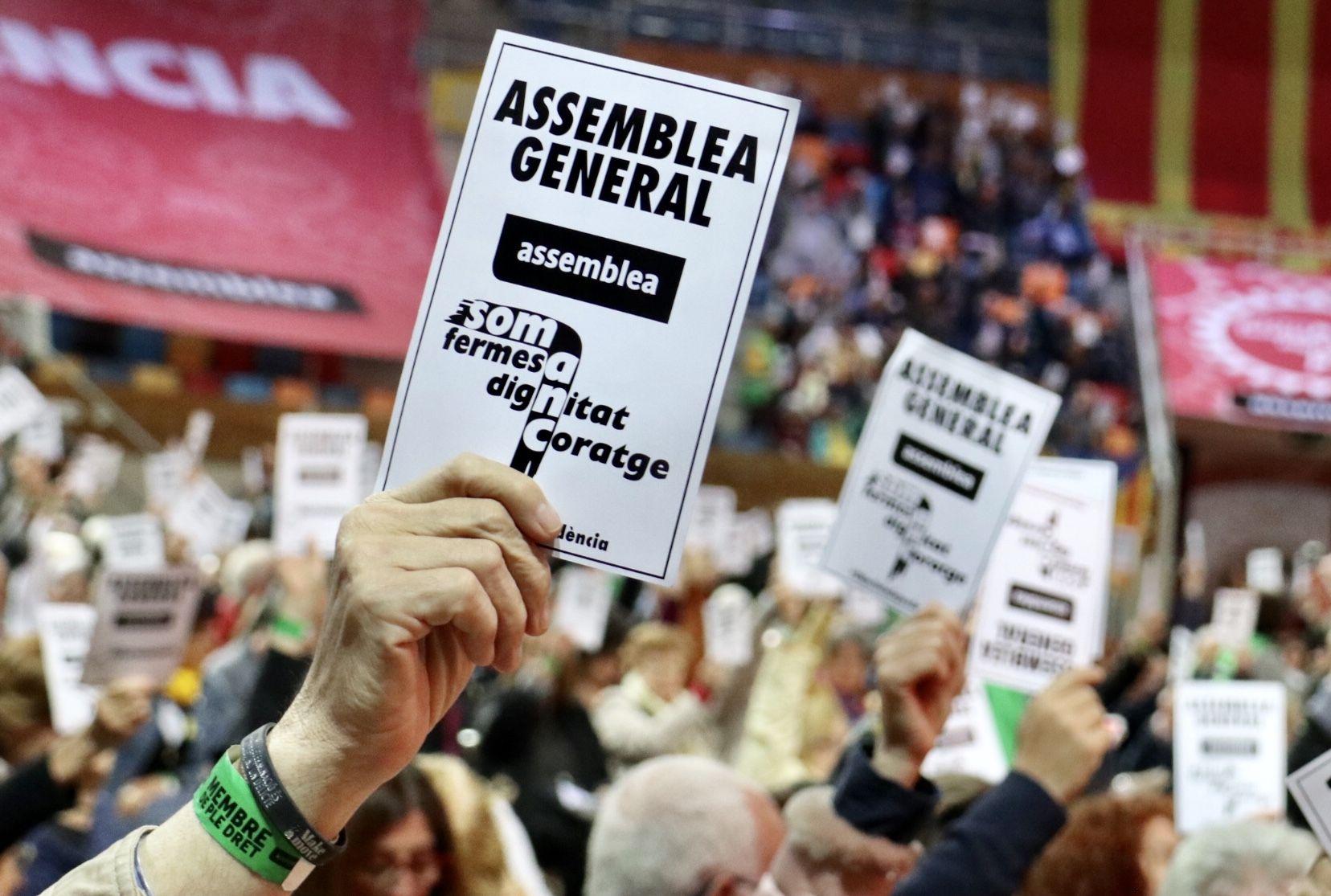 Una imatge de la darrera Assemblea General de l'ANC