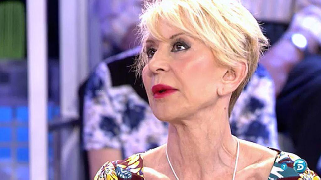 Karmele Marchante, a 'Sálvame'   Telecinco