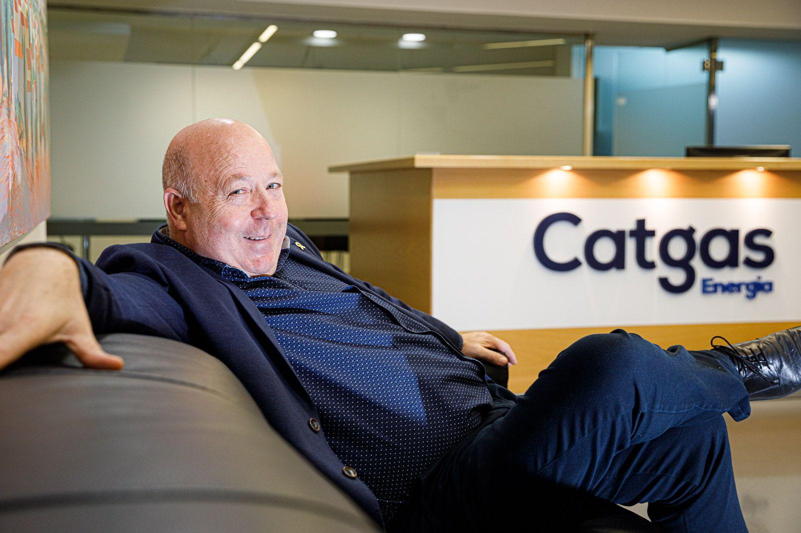 Pere Gran, director gerent de la companyia energètica Catgas JORDI BORRÀS