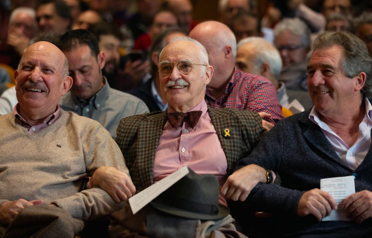 Andreu, a la dreta, va viatjar ahir a Waterloo (Europa Press)