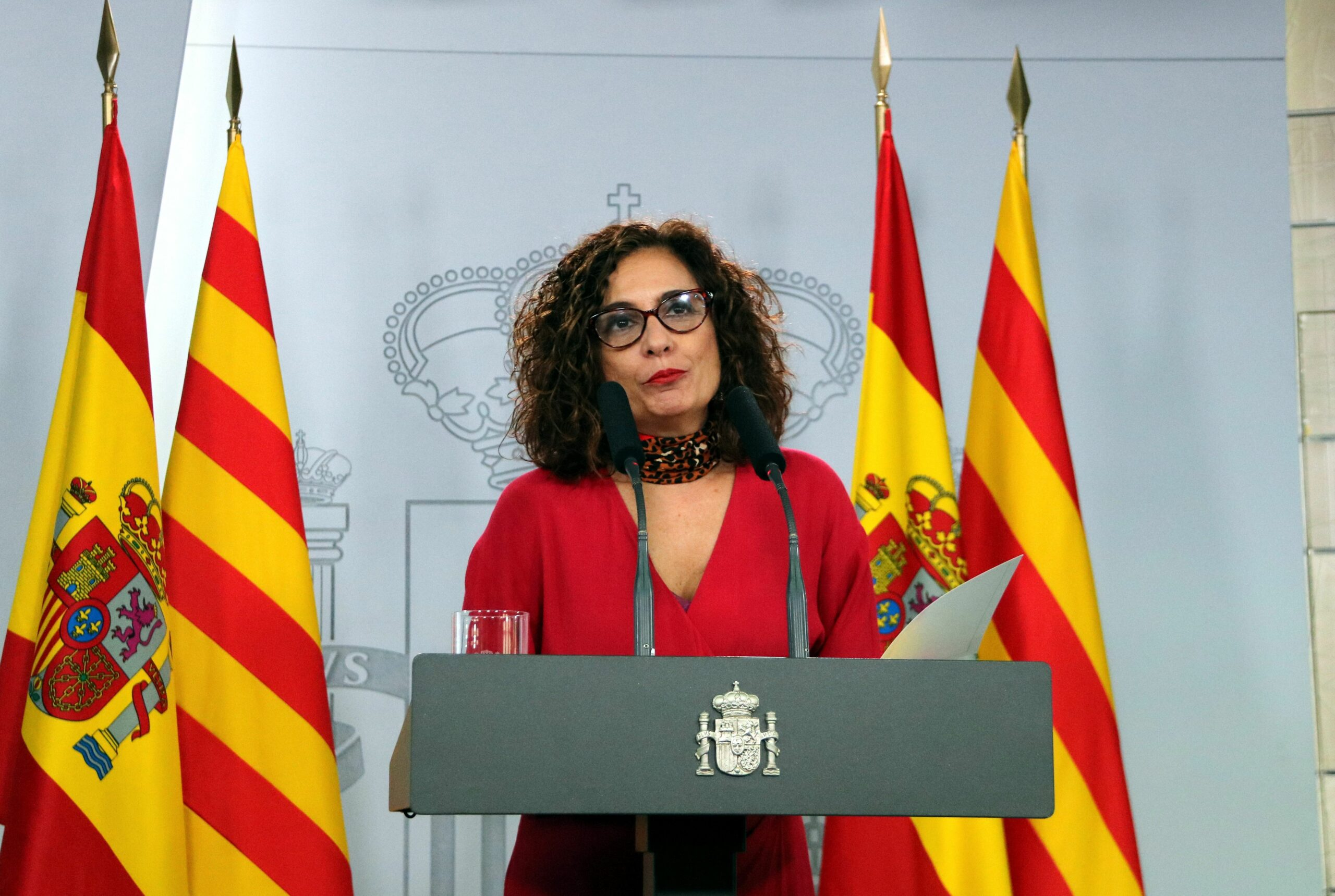 La ministra portaveu del govern espanyol, Maria Jesús Montero | ACN