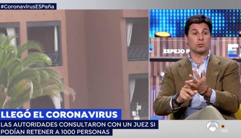 Fran Rivera parla del coronavirus a 'Espejo Público'   Antena 3