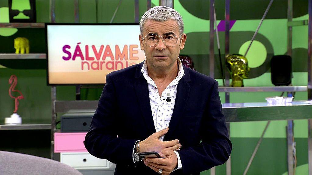Jorge Javier Vázquez, a 'Sálvame'   Telecinco
