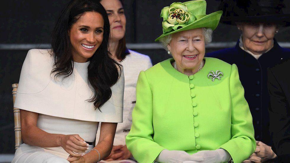 Meghan Markle, amb la reina d'Anglaterra   Europa Press