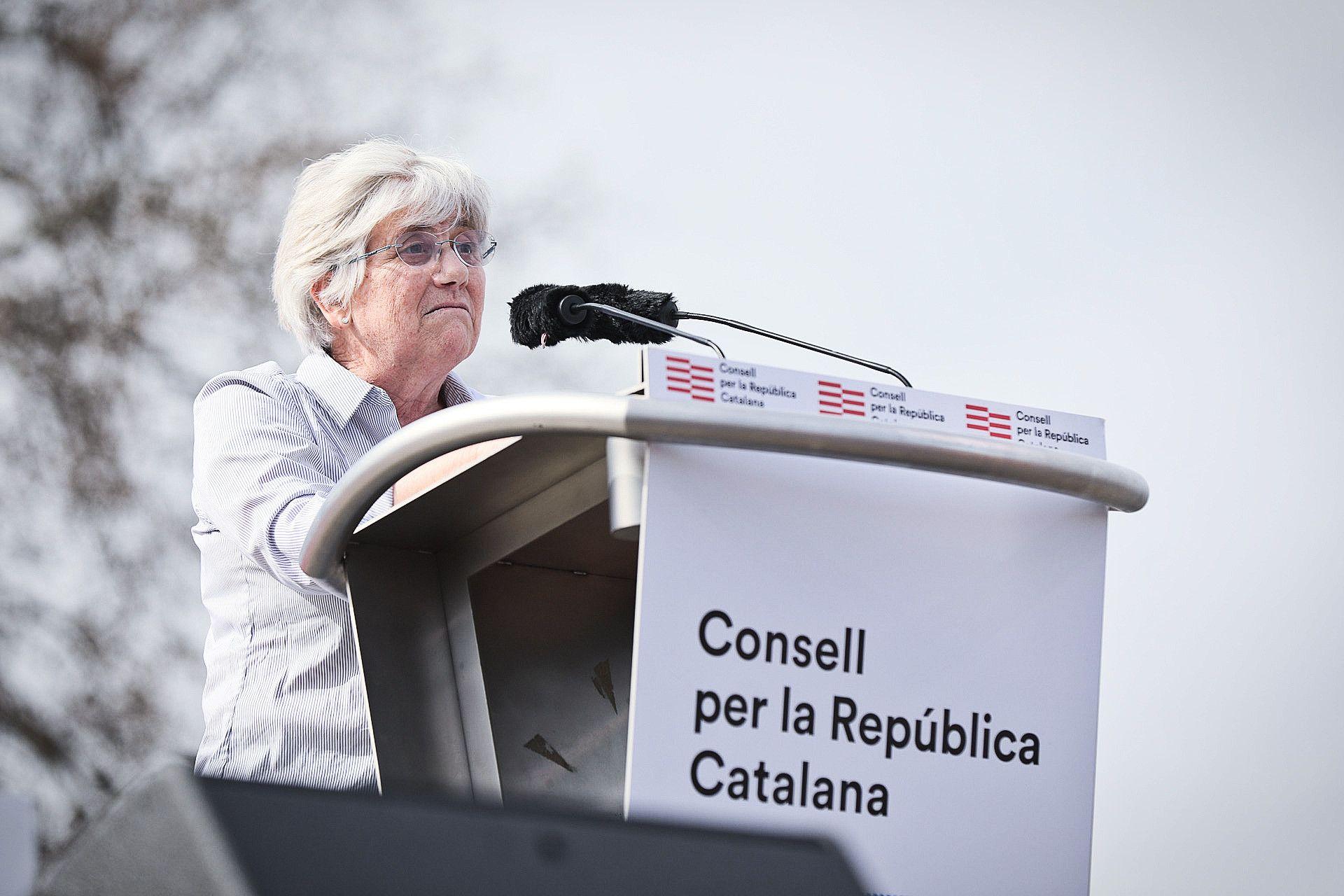 Clara Ponsatí a Perpinyà (JORDI BORRÀS)