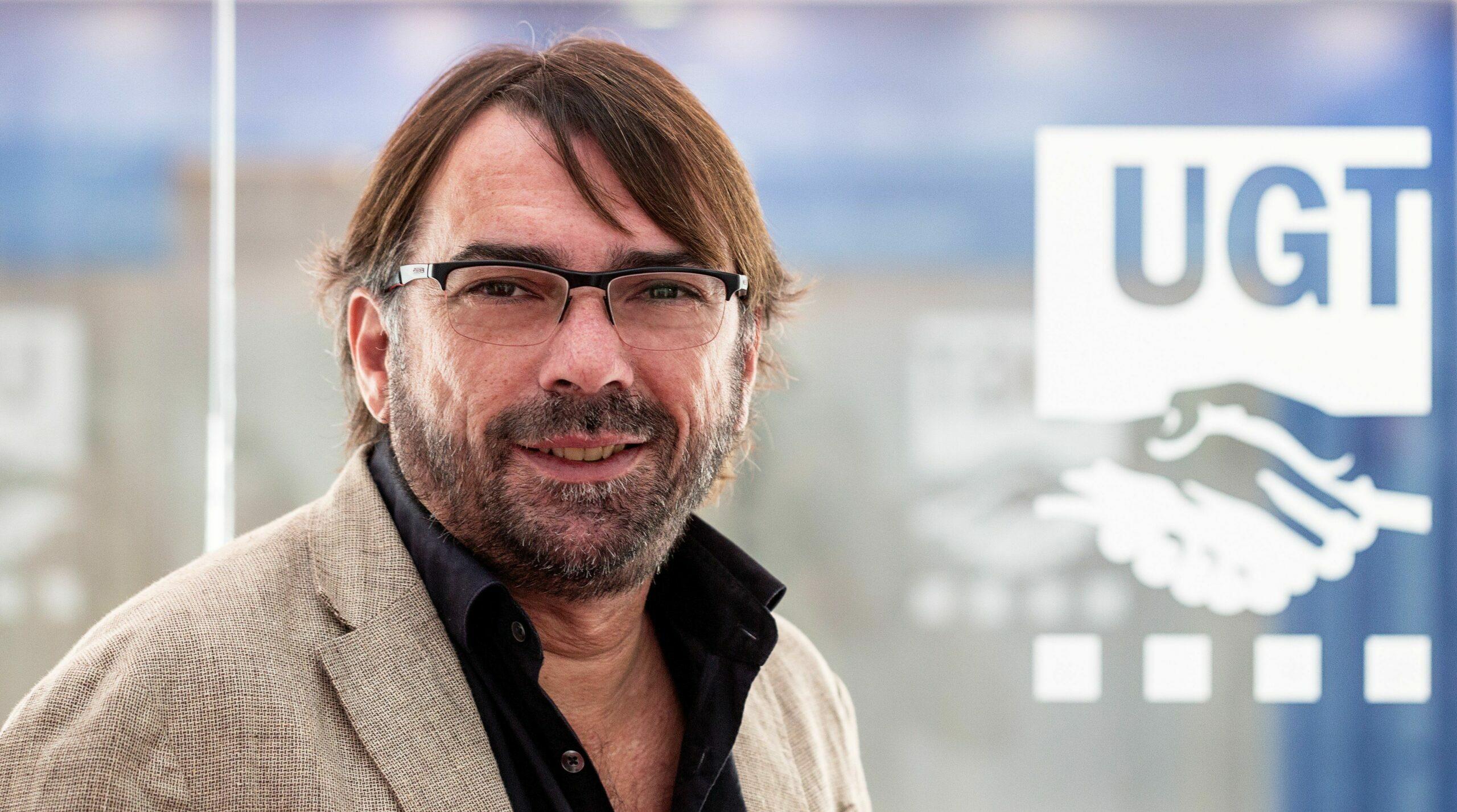 El secretari general de la UGT a Catalunya, Camil Ros