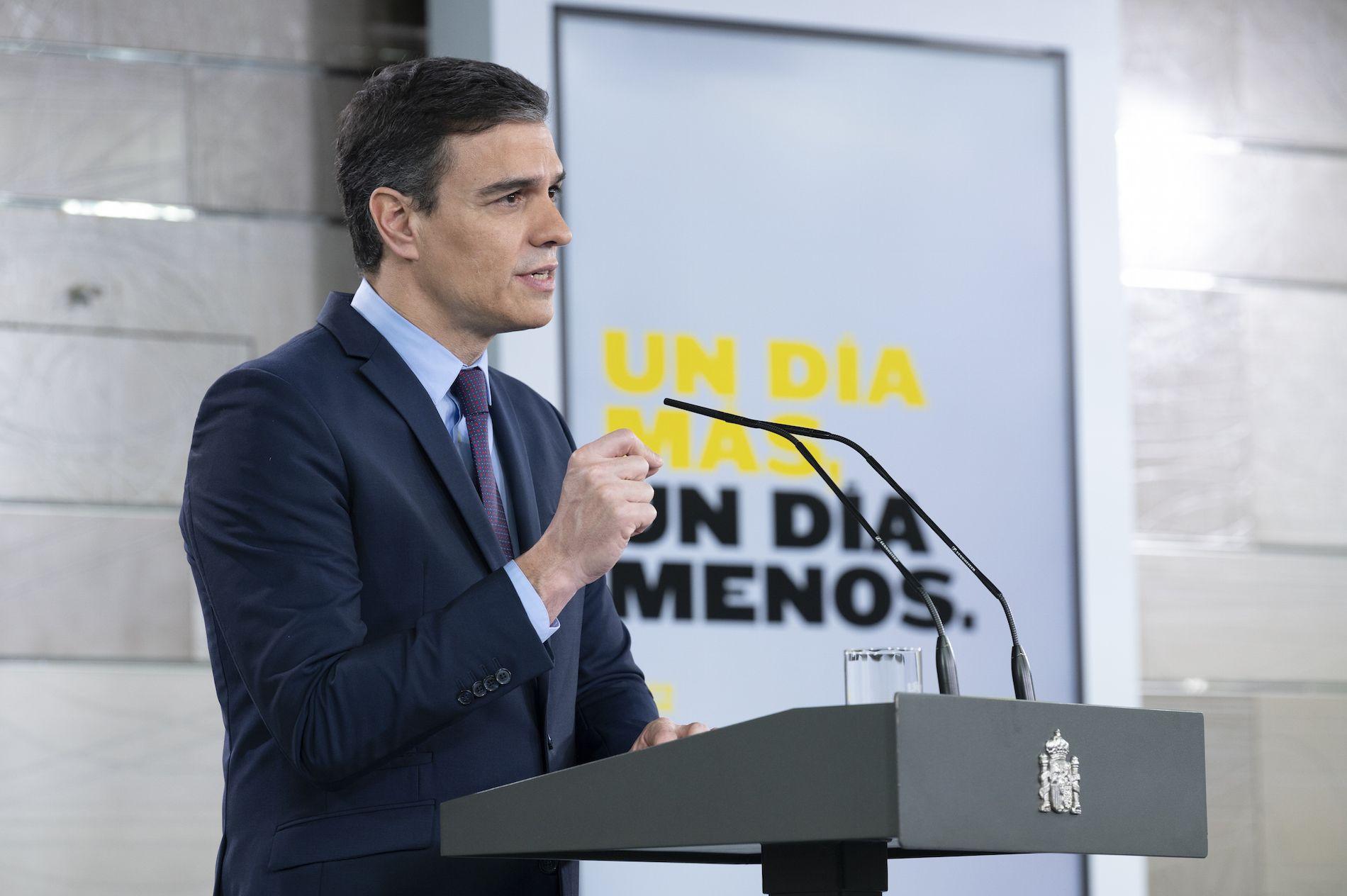 El president espanyol, Pedro Sánchez