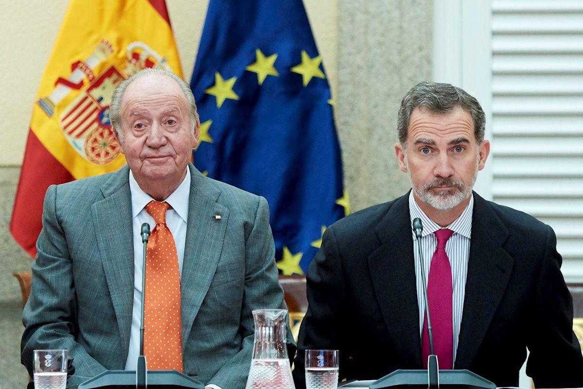 Els reis Joan Carles i Felip   Europa Press