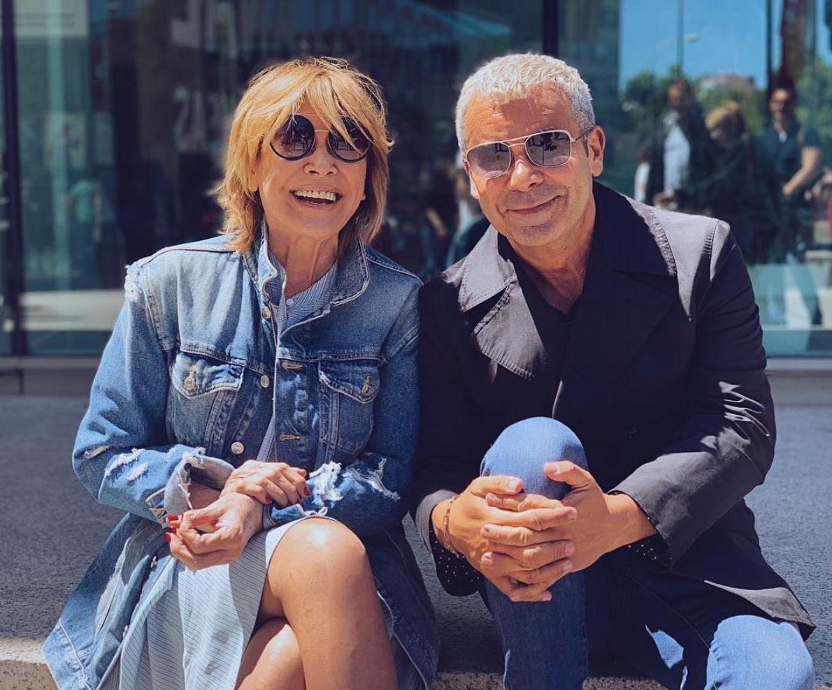 Mila Ximénez i Jorge Javier Vázquez   Instagram
