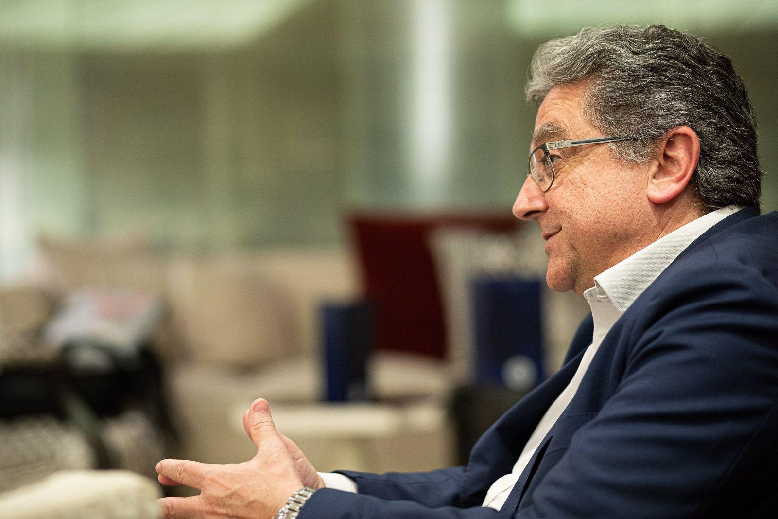 L'exdelegat del govern espanyol a Catalunya, Enric Millo (Jordi Borràs)