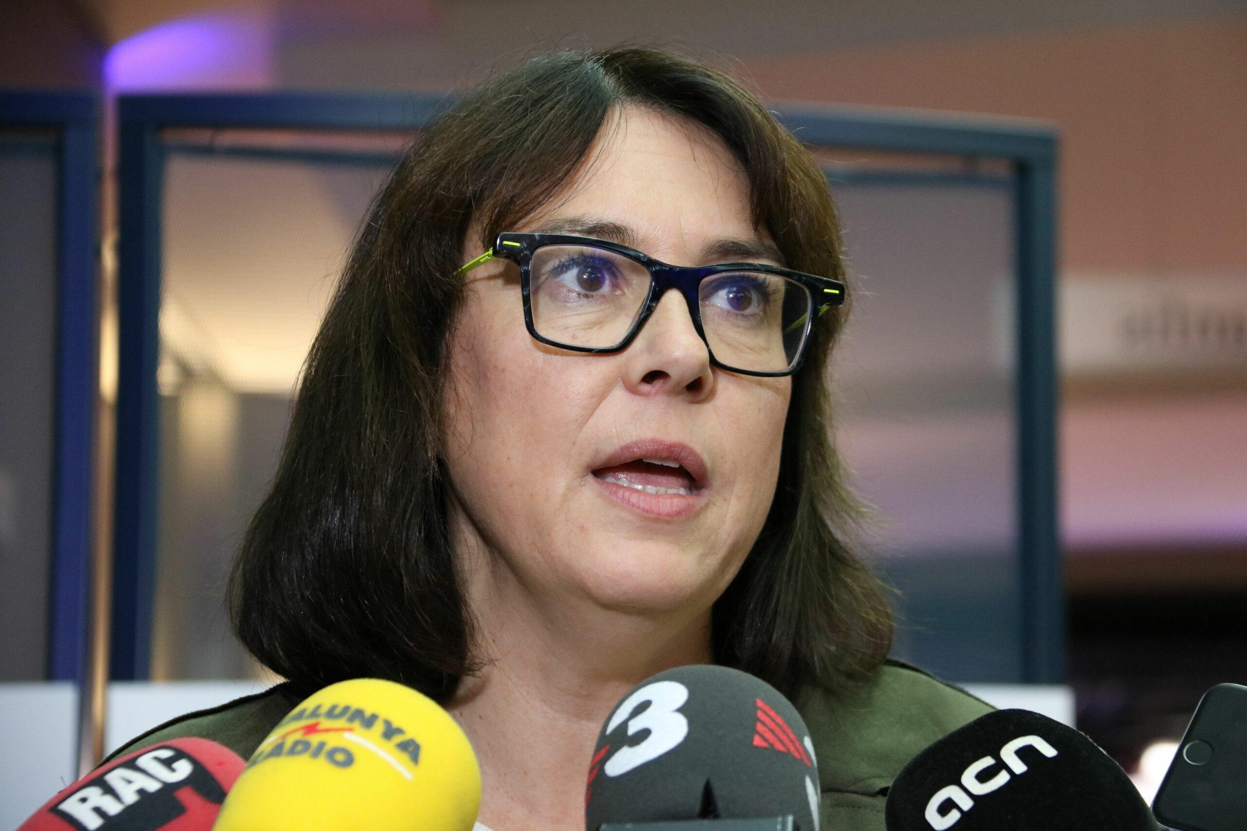 L'eurodiputada d'ERC Diana Riba