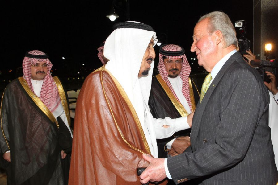 El rei em?rit Juan Carlos durant una visita a l'Ar?bia Saudita   Casa Real