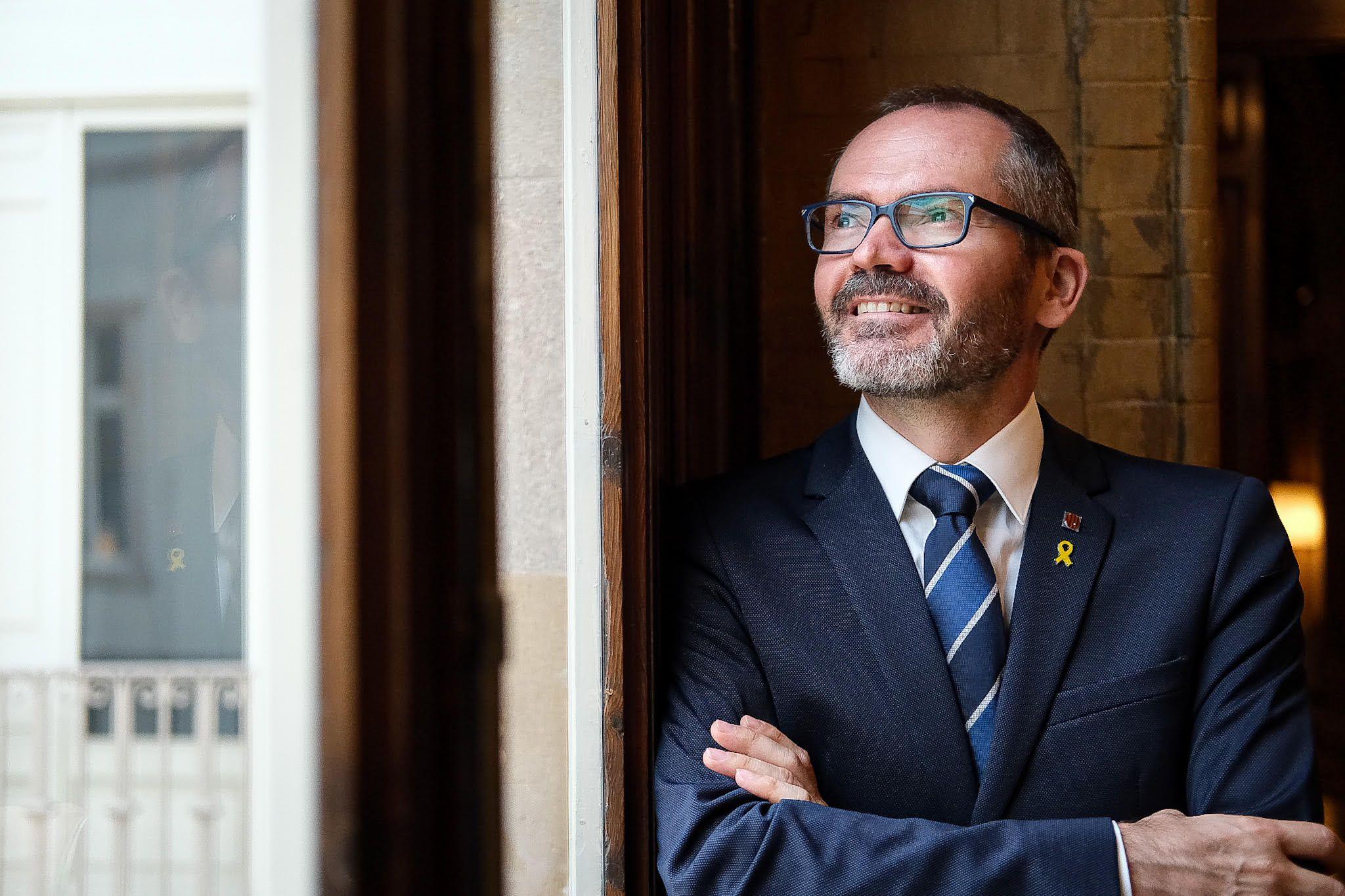 Josep Costa, en un una entrevista amb El Món | Jordi Borràs
