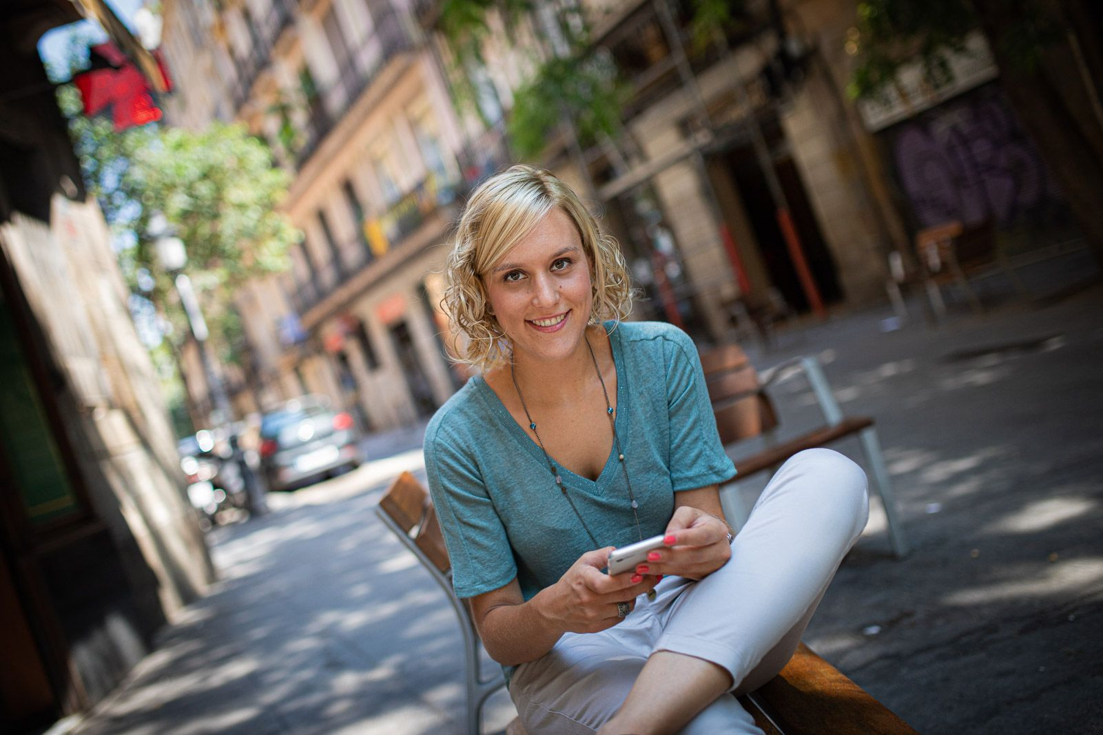 La periodista Magda Gregori, autora de 'Pere Aragone?s, l'independentisme pragma?tic' JORDI BORRA?S