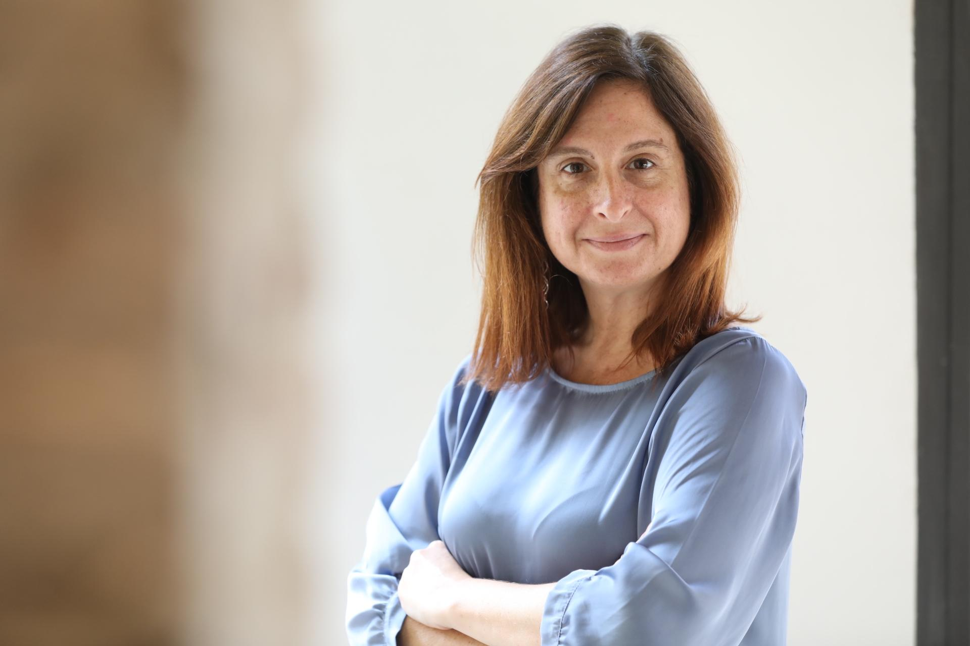 Si?lvia Barroso, nova directora d'El M?n / Jordi Play