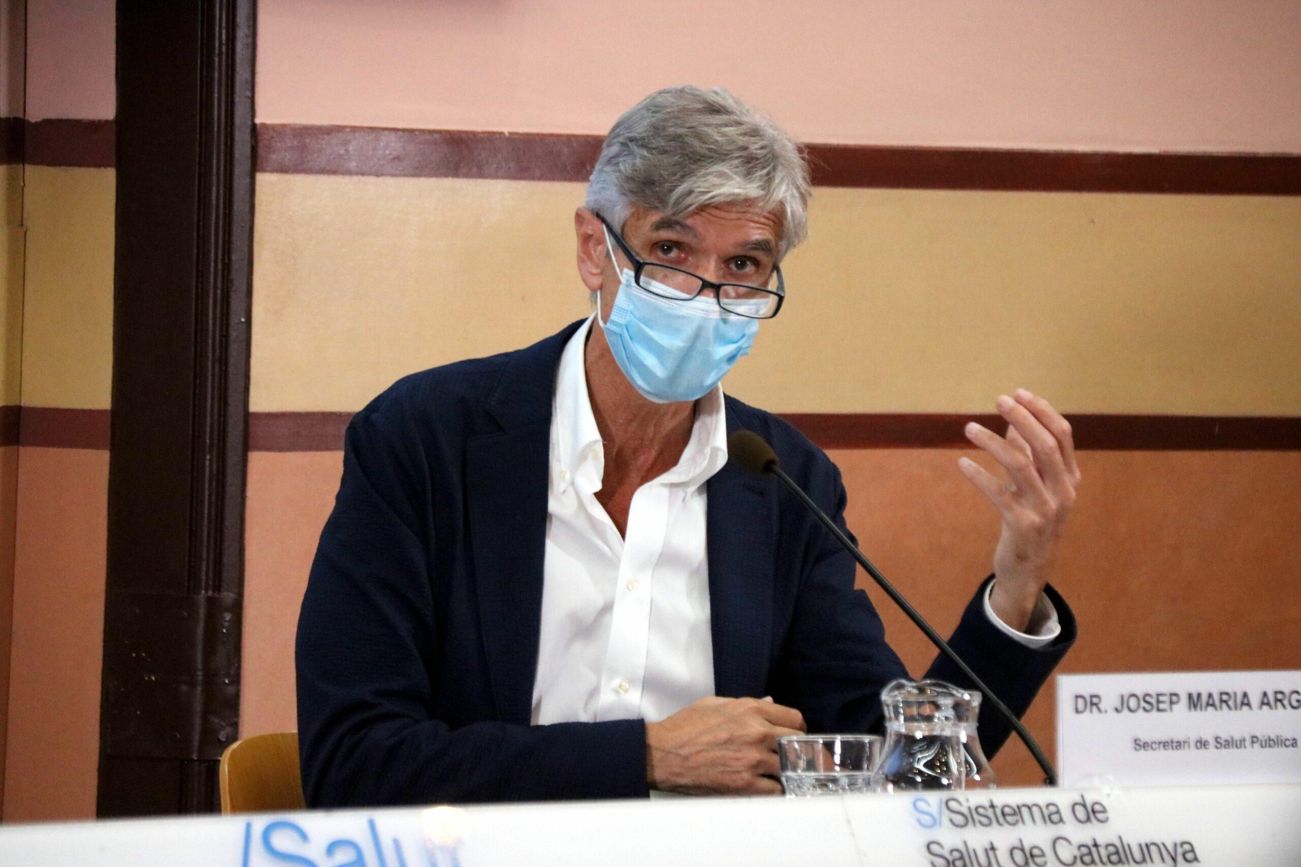El secretari de Salut P?blica, Josep Maria Argimon (ACN)