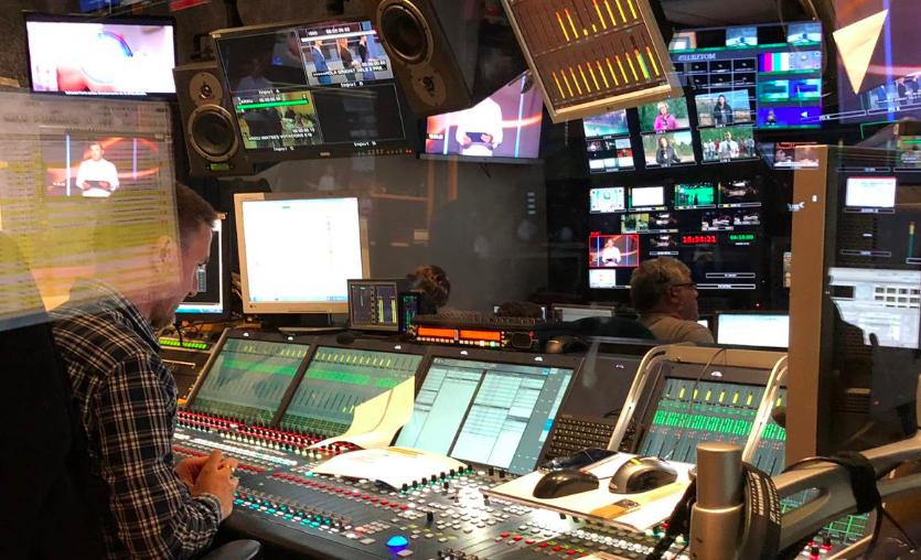 Un dels controls de TV3 (TV3)