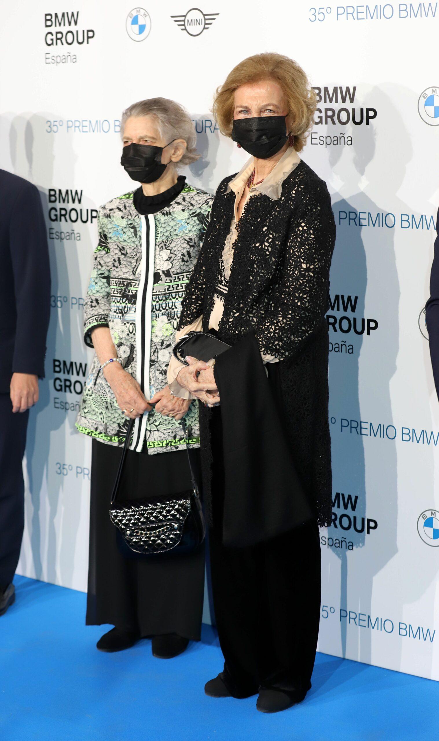 Sofia de Gr?cia, al photocall amb la seva germana   Europa Press