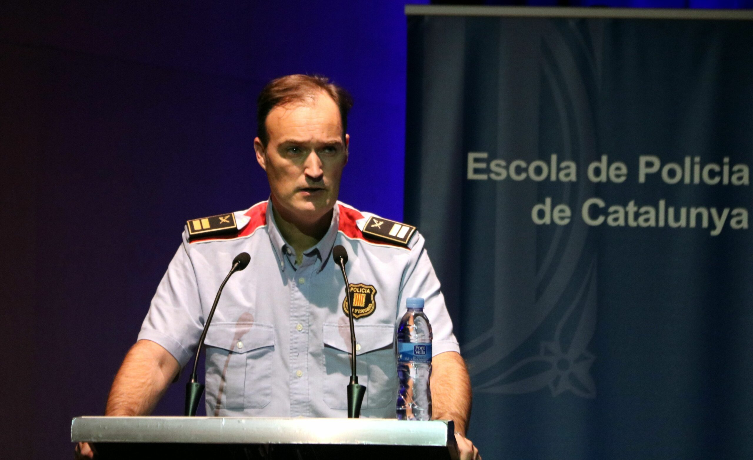 El comissari en cap dels Mossos d'Esquadra, Eduard Sallent