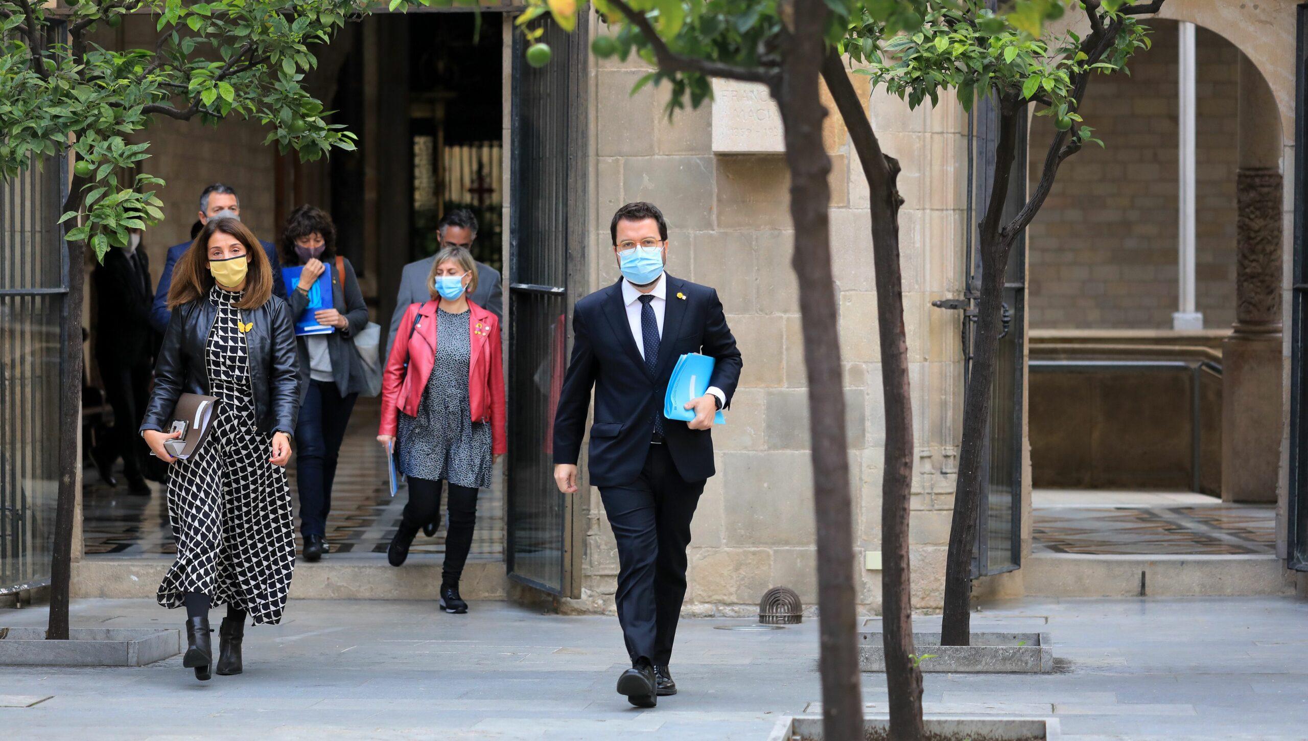 Bud? i Aragon?s dimarts passat al Palau de la Generalitat / ACN
