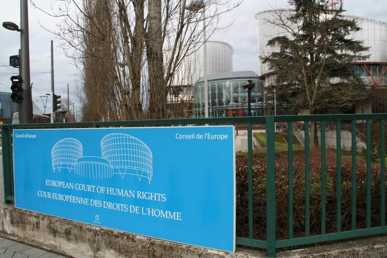 Seu del Tribunal Europeu dels Drets Humans a Estrasburg