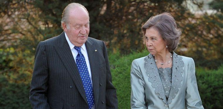 Els reis emèrits Joan Carles i Sofia