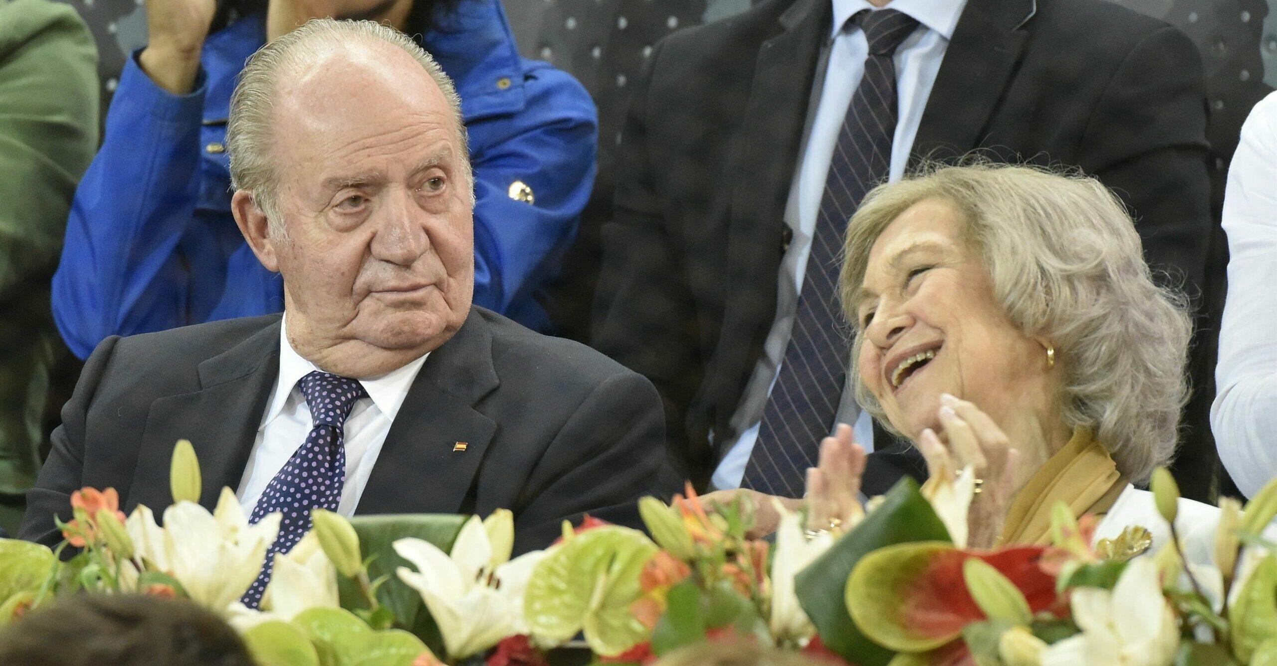 Joan Carles i Sofia, junts durant un partit de tenis / Europa Press