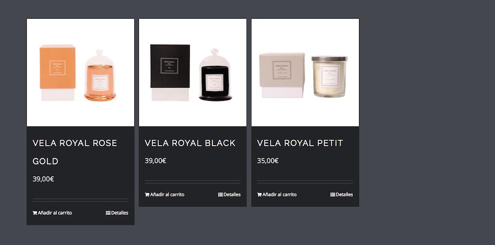 Productes de la web de Belén Esteban   Web oficial