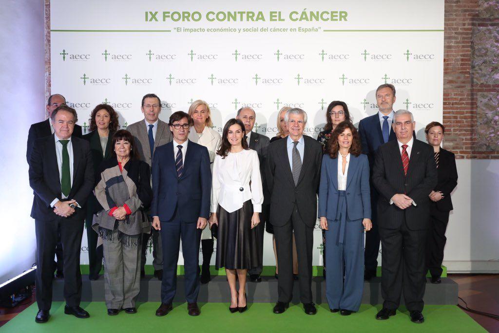 La reina Letícia, en el fòrum contra el càncer   Casa Reial