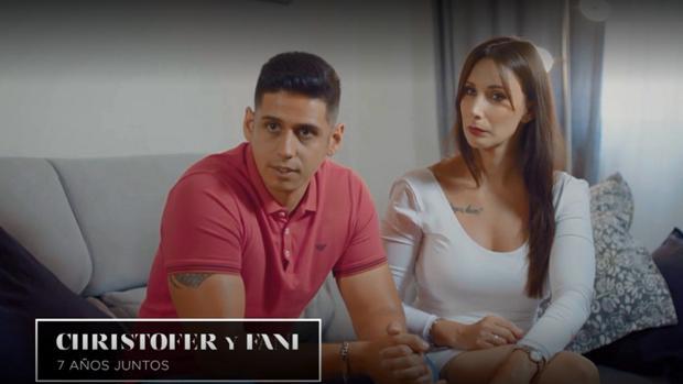 Christofer i Fani, concursants de 'La isla de las tentaciones'   Telecinco