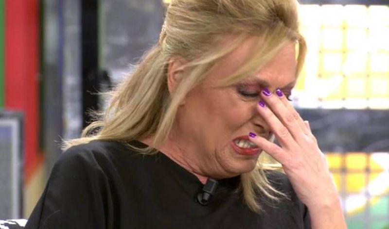 Lydia Lozano plora a 'Sálvame'   Telecinco