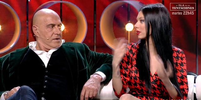 Kiko Matamoros discuteix amb Alejandra Rubio   Telecinco