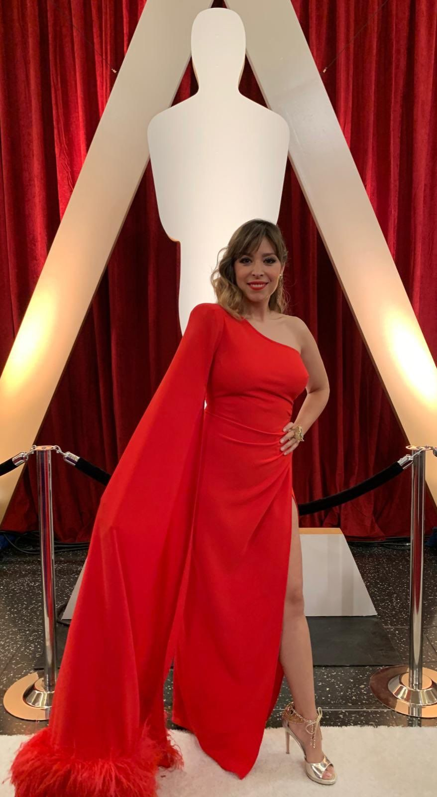 Gisela als Oscar   Twitter