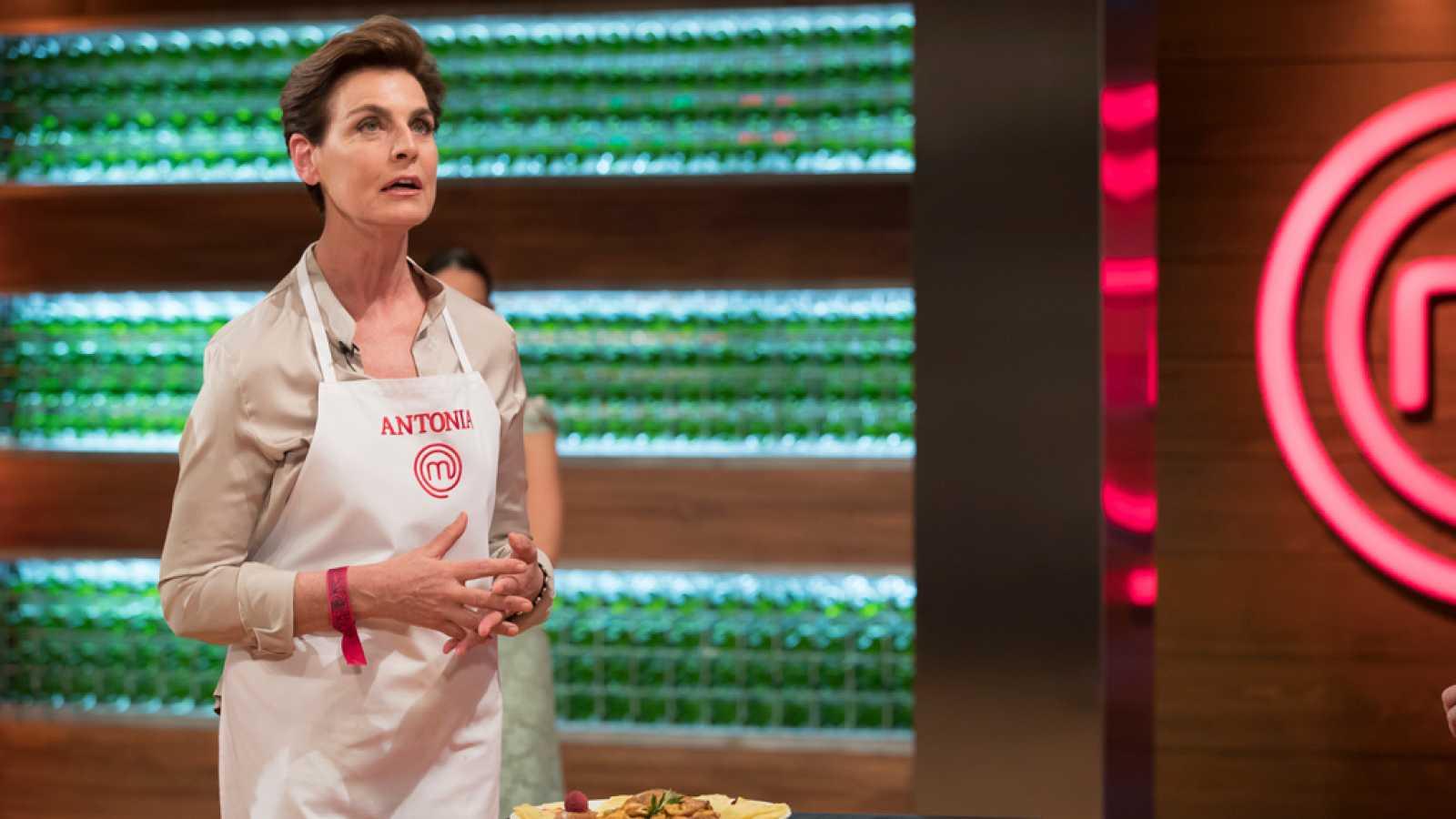 Antonia Dell'Atte a 'Masterchef'   TVE