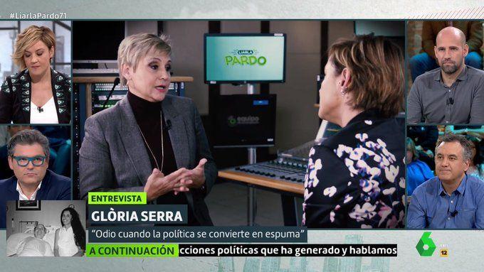 Gloria Serra i Cristina Pardo   La Sexta