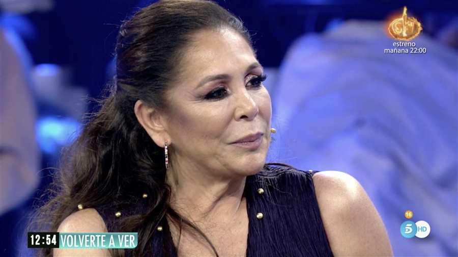 Isabel Pantoja a 'Volverte a ver'  Telecinco