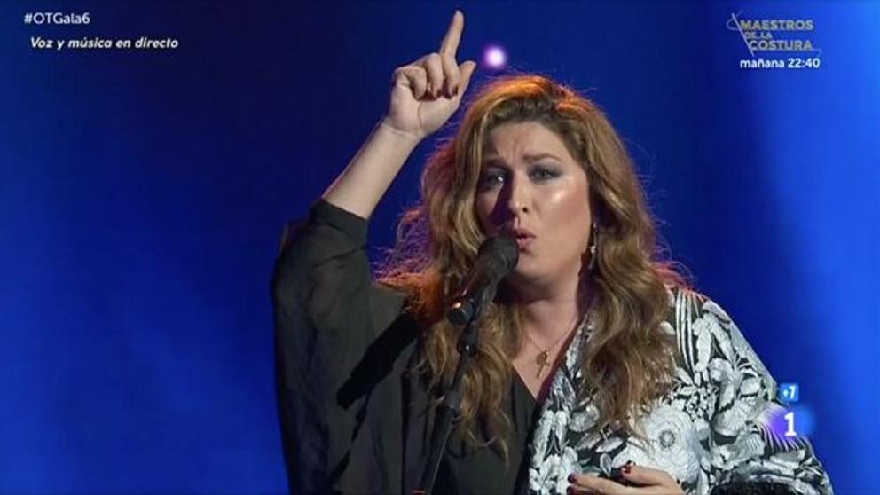 Estrella Morente a 'OT'   TVE