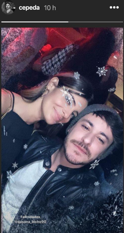 Susana i Cepeda, junts   Instagram