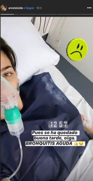 Ares Teixidó a l'hospital   Instagram 2