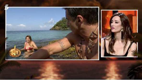 Adara, atenta a la relació del seu ex a dins de 'Supervivientes'   Telecinco