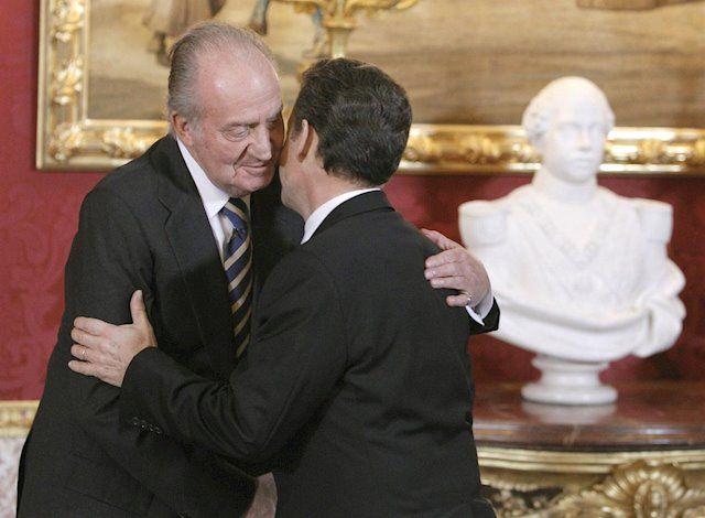 Bona sintonia entre el rei Joan Carles i Sarkozy   Europa Press