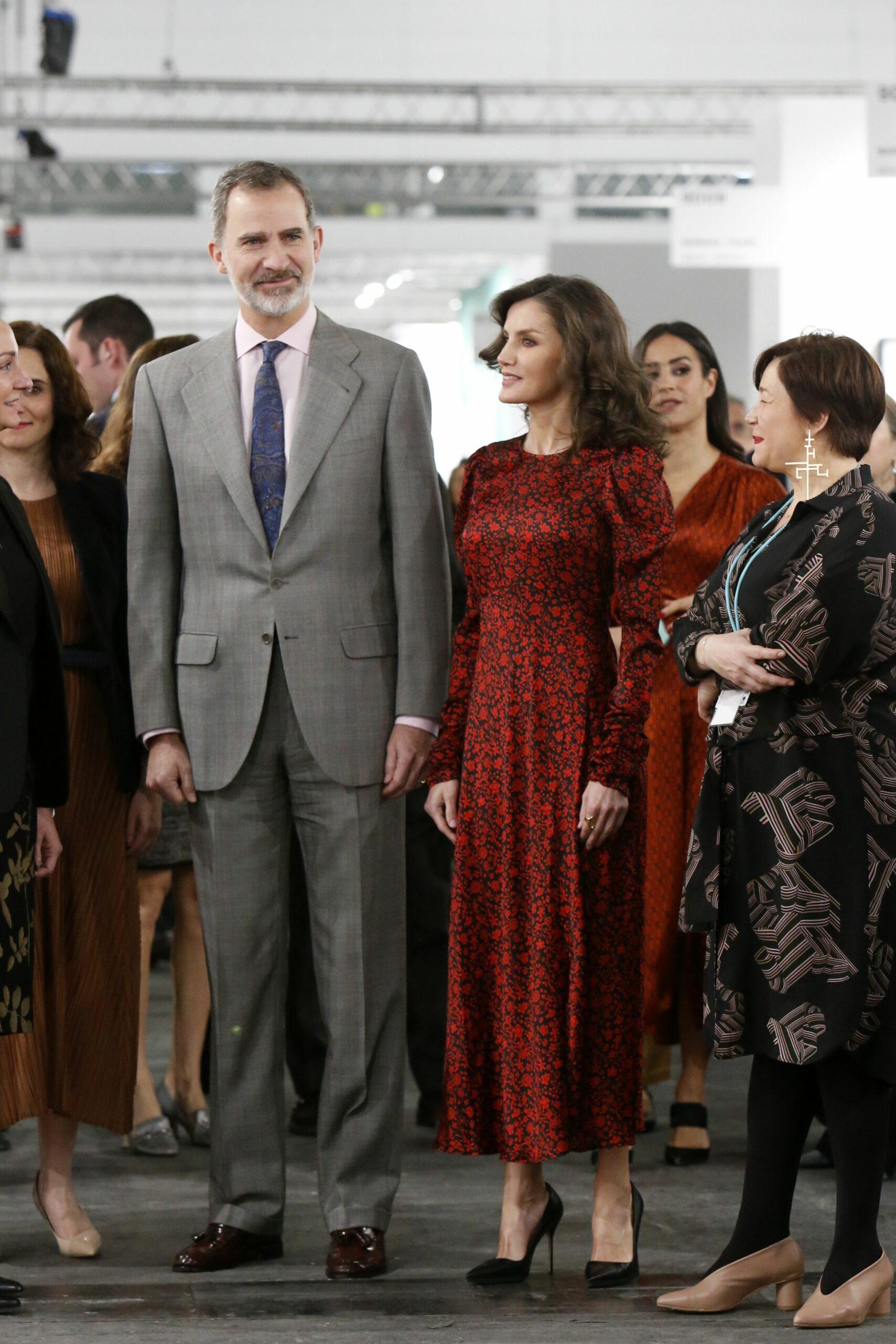 Els reis a la inauguració d'ARCO   Europa Press