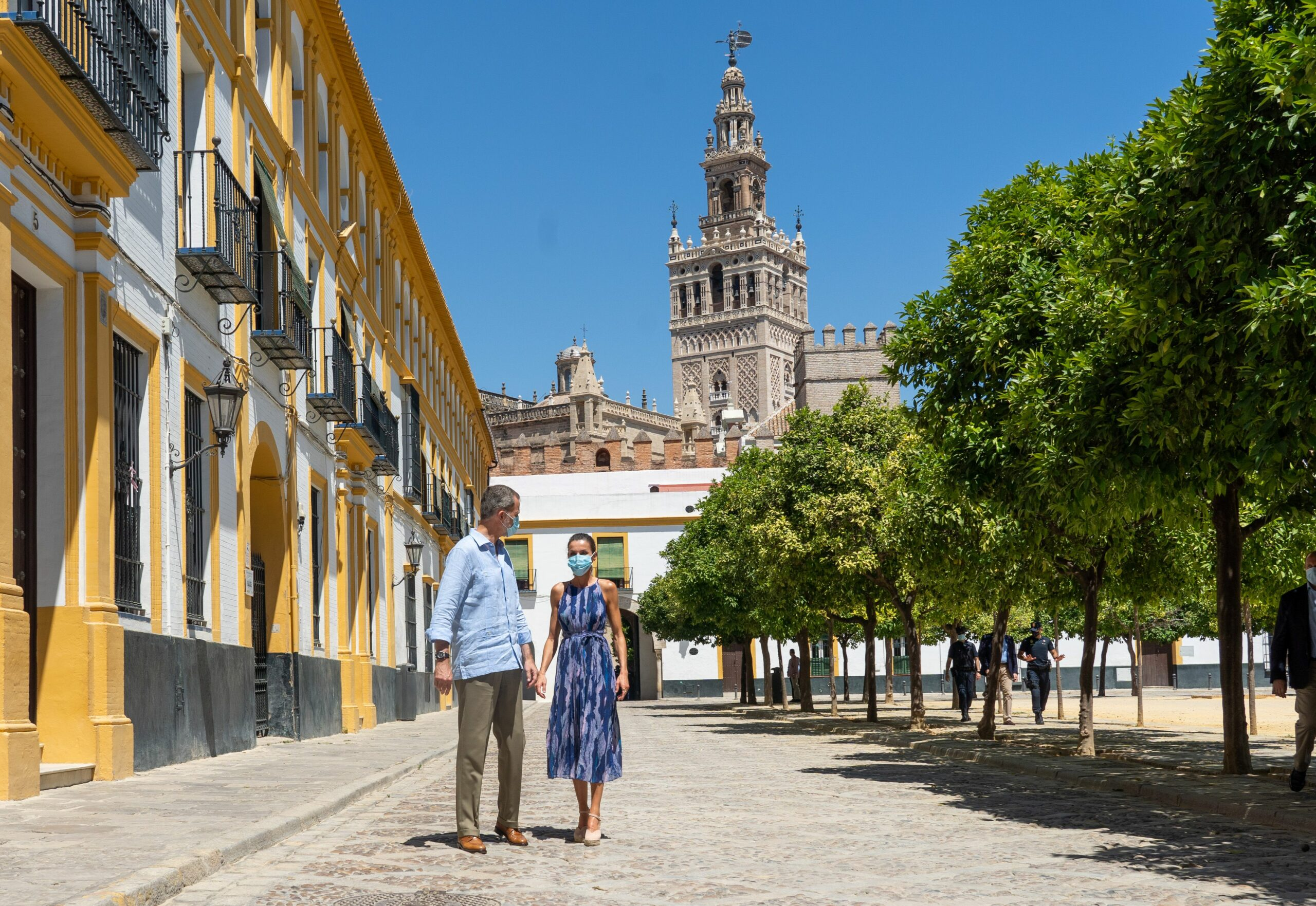 Els Reis, còmplices a Sevilla   Europa Press